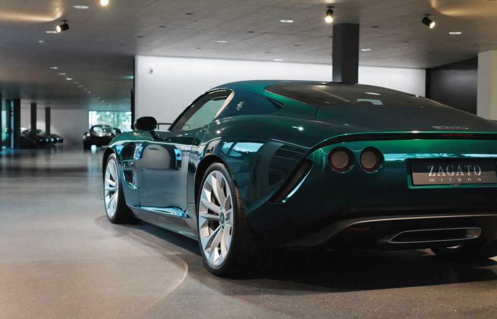 The 2021 Zagato IsoRivolta GTZ is built on a stock C7 Z06 Corvette chassis.