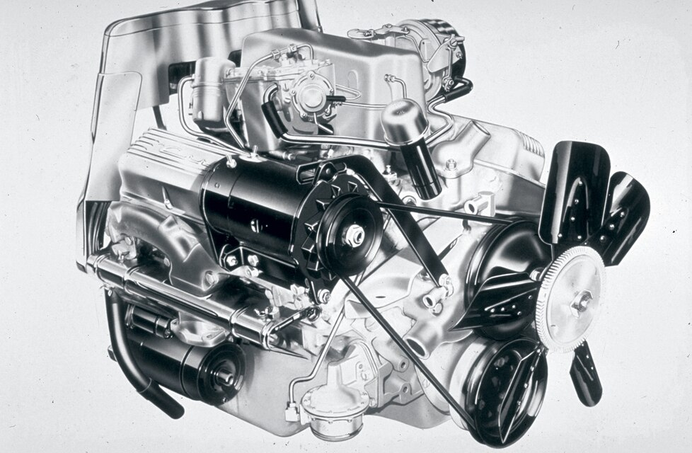 4.6L 283ci Engine