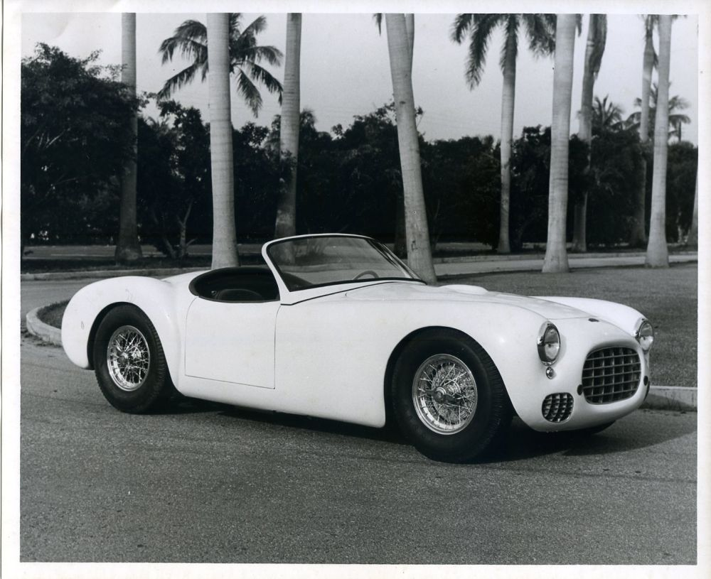 The 1951 C-1 Cunningham Sports Car.
