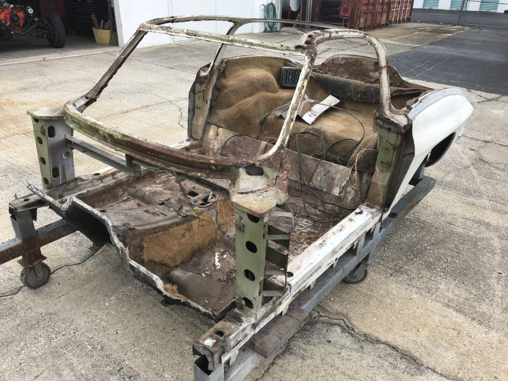 """The """"bird cage"""" is that portion of the chassis/frame assembly which surrounds the cockpit assembly. These areas are subject to rust and result in significant (and costly) repairs."""
