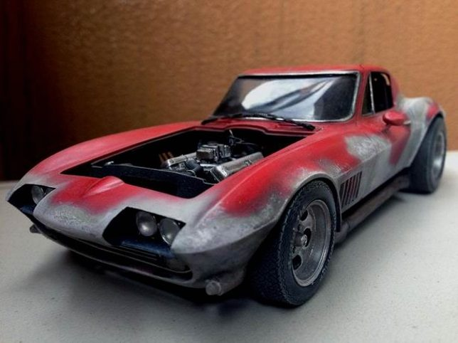 Corvette from King of the Mountain movie