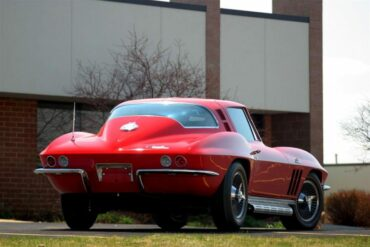1965 Red Corvette with L78 engine
