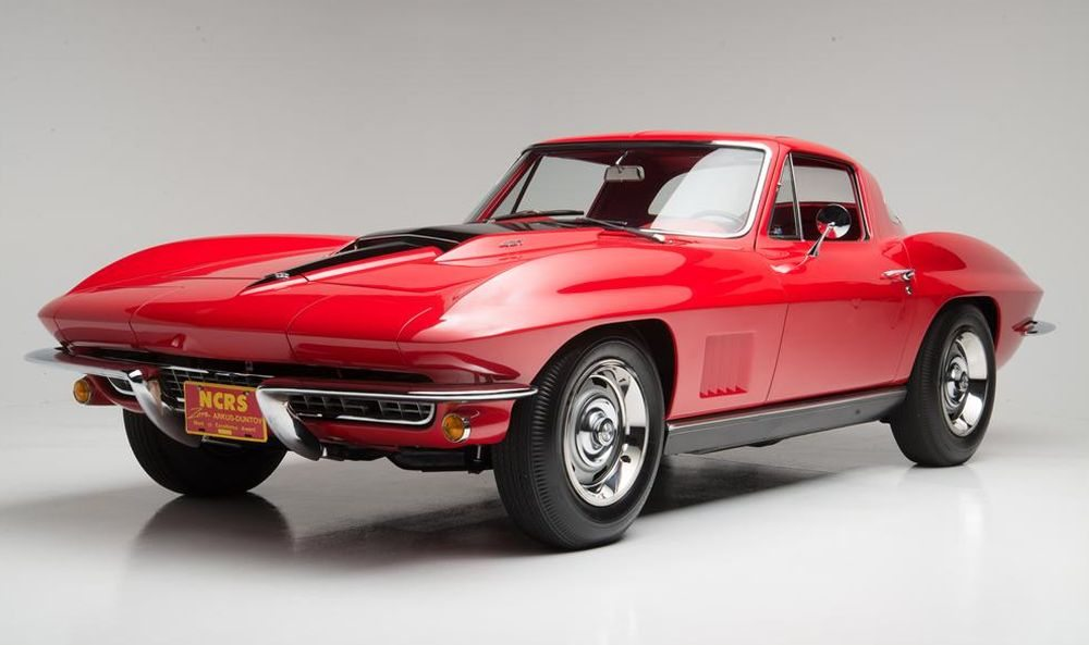 Red 1967 Corvette with L88 Engine