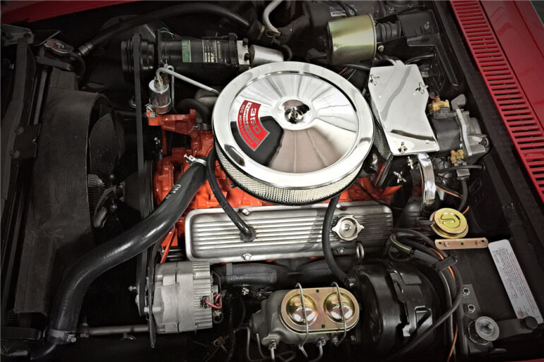 L46 350CI engine