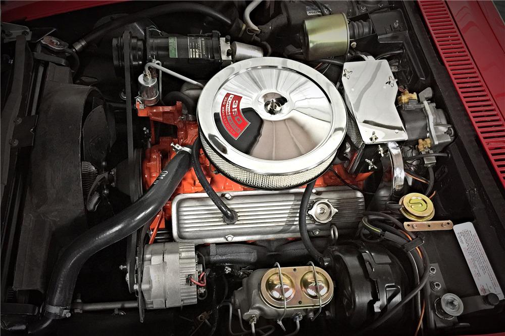 L46 350CI engine