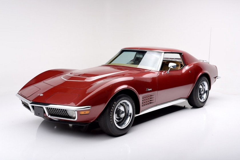 1970 Corvette with LT1 engine