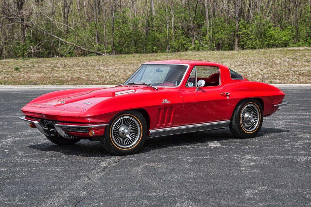 Red 1966 Corvette