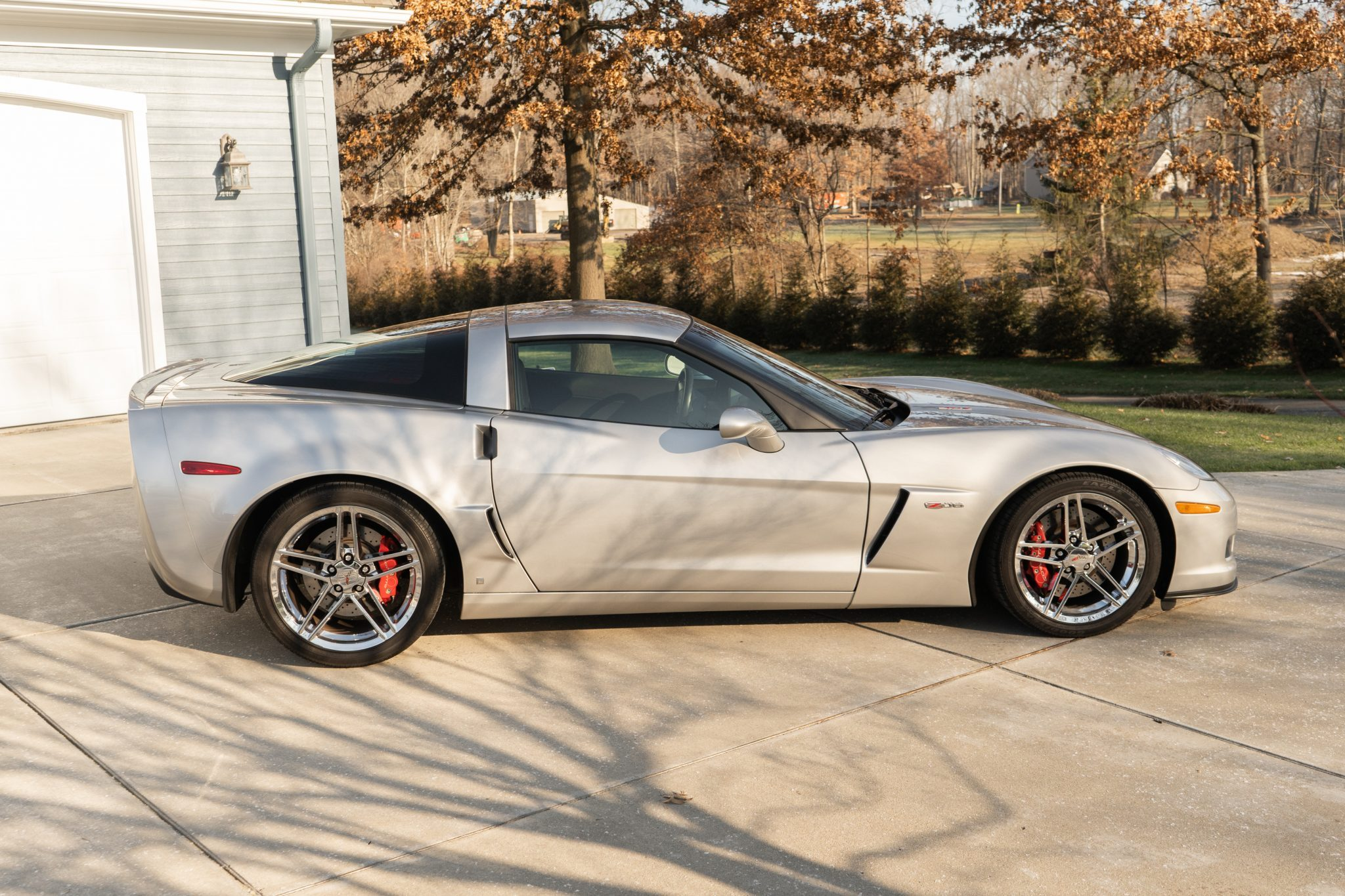 This 2007 Corvette Z06 has just 9,222 miles on its odometer.