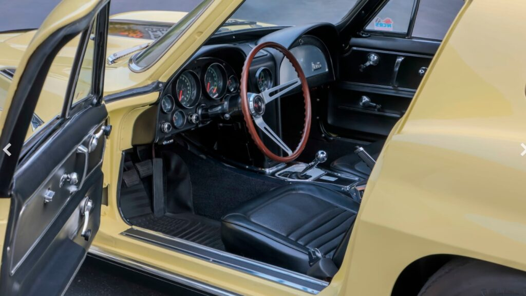 This meticulously restored Corvette is pristine both inside and out.