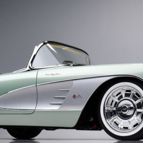 1959 Corvette Restomod Barrett Jackson Front View