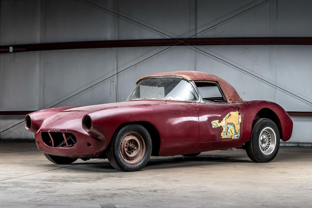 We hope to see this 1960 Corvette racer restored to its original glory in the not too distant future!