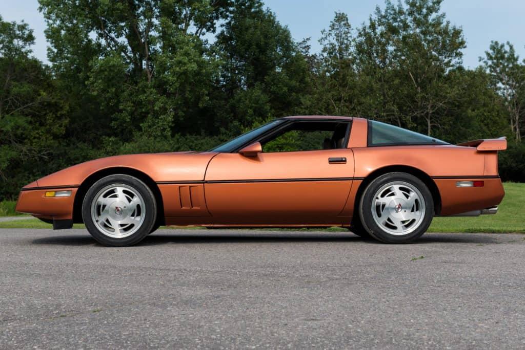 The 1986 Copper Metallic Corvette