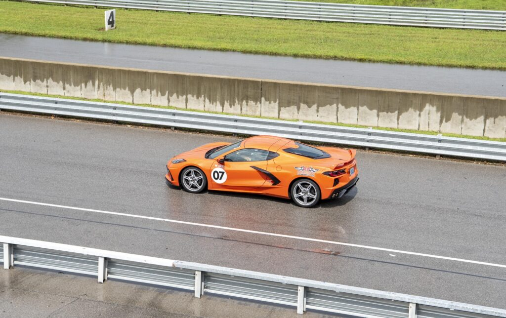 The 2020 Mid-Engine Corvette Stingray on track at NCM Motorsports Park. This thing was an absolute blast to drive!