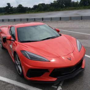 The 2021 Corvette Stingray at the NCM Motorsports Park. Try driving one - its an experience you'll never forget.