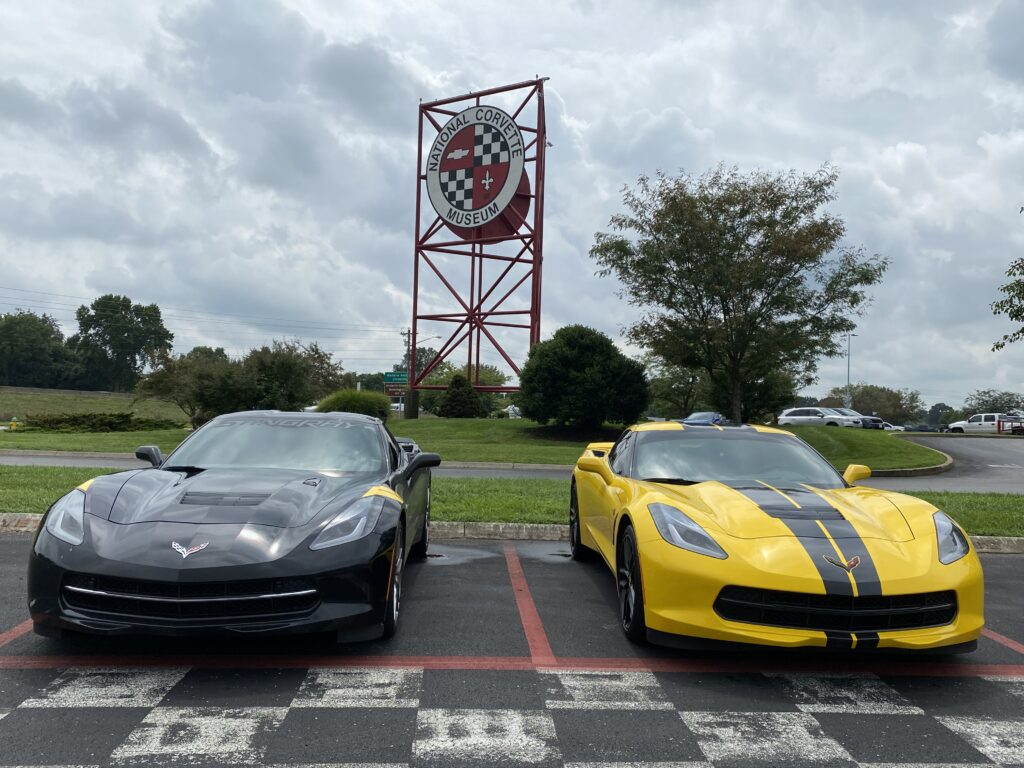 Both of these seventh-generation Stingrays performed beautifully on the 3.15 road course at the NCM Motorsports Park.