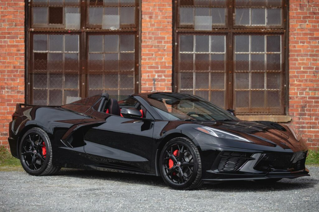Black was the fourth-most popular color choice for the 2021 Corvette model year, making up 2,818 of the Corvettes produced that year.