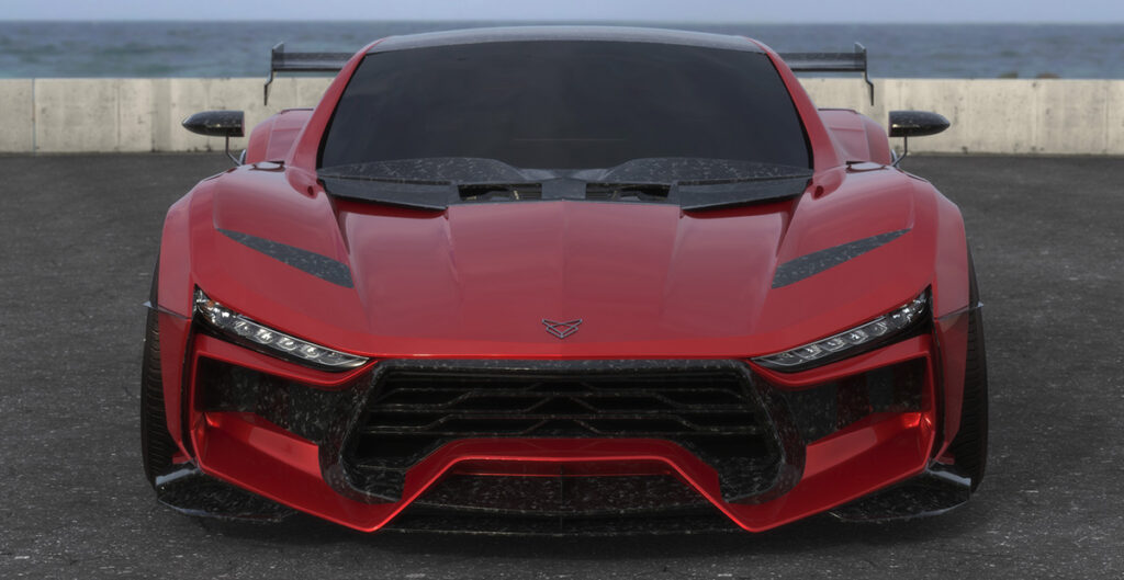 Would you believe this car is (at its core) a C6 Corvette?