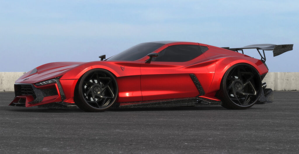 The Valarra Body Kit transforms your stock C6 into something truly exotic (looking).