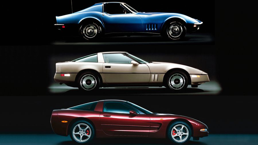 """Though often overlooked in the """"best of"""" categories for Corvette - the third, fourth, and fifth generation Corvettes all contributed to the car's advancement from boulevard cruiser to a bonafide super car. The C3 gave birth to the iconic Corvette styling that still exists today, the C4, became the first car to focus on handling and cornering versus just straight line acceleration, and the fifth generation Corvette took all the lessons learned from the past and introduced us to a car that was a genuine performer, which gave rise to the Corvette Racing program in the late 90s."""